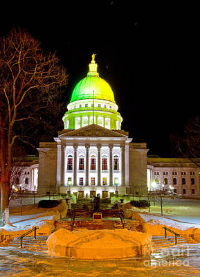 Capitol Madison Packers Colors Poster