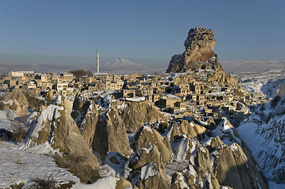 Cappadocia In Winter Poster by Ayhan Altun