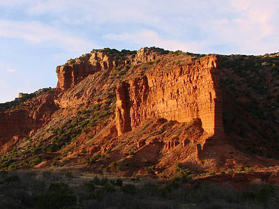 Poster featuring the photograph Caprock Canyon by Linda Cox