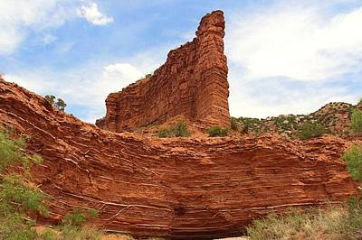Poster featuring the photograph Caprock Canyons State Park 3 by Elizabeth Budd