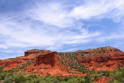 Poster featuring the photograph Caprock Canyons State Park by Elizabeth Budd