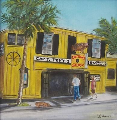 Capt. Tony's Saloon Poster