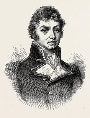 Captain Afterwards Sir Philip Broke. From A Portrait Poster by American School