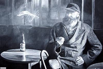 Captain Birdseye, 2008 Oils Poster by Kevin Parrish