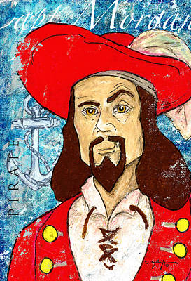 Captain Morgan Poster by William Depaula