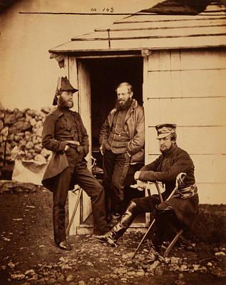 Captain Ponsonby, Captain Pearson & Captain Markham Poster by Quint Lox
