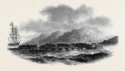 Capture Of A Slave-vessel Poster