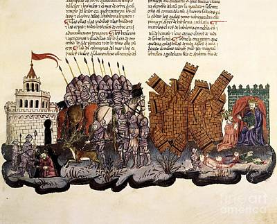Capture Of King Zedekiah, 1430 Artwork Poster by Patrick Landmann