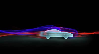 Car Aerodynamics Modelling Poster