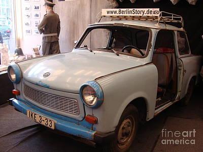 Car In Berlin Poster