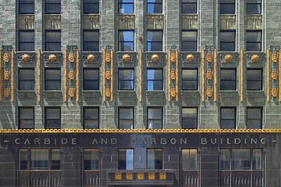Carbide And Carbon Building Poster