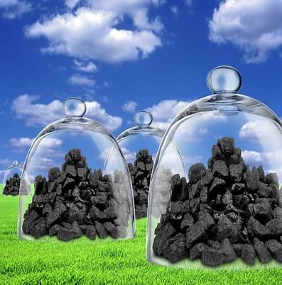 Carbon Capture And Storage Poster by Victor De Schwanberg