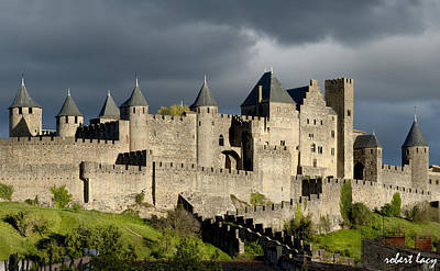 Carcassonne Stormy Skies Poster