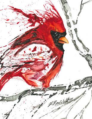 Cardinal Direction Poster