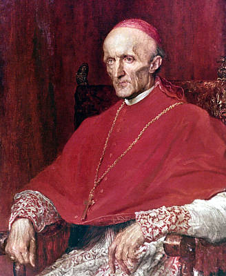 Cardinal Manning (1808-1892) Poster by Granger