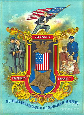 Cardinal Principles 1884 Poster by Padre Art