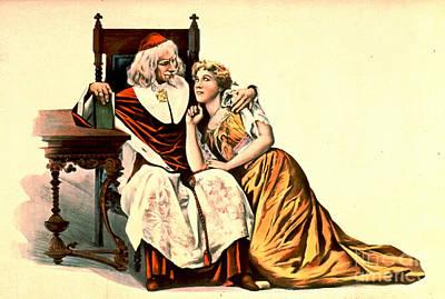 Cardinal Richelieu And Julie 1894 Poster