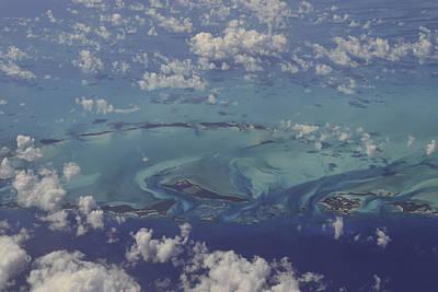 Caribbean Aerial 3 Poster