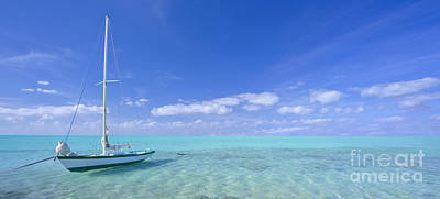 Caribbean Chill Time Poster