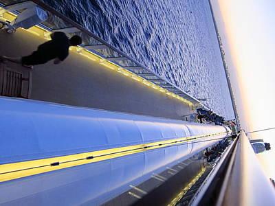 Caribbean Cruise - On Board Ship - 121222 Poster