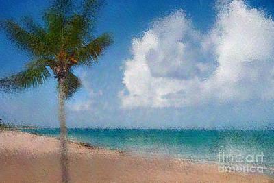 Caribbean Dreams Poster by Betty LaRue
