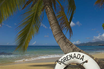Caribbean, Grenada, Life Buoy Poster by Chris Parker