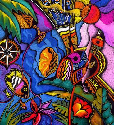 Caribbean Poster by Leon Zernitsky