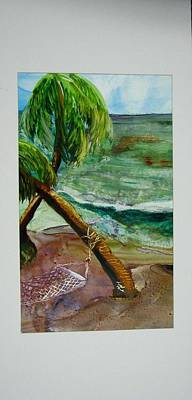 Caribbean Morning Poster by Keith Thue