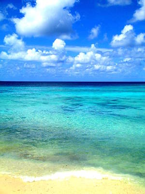 Caribbean Perfection Poster by Randall Weidner
