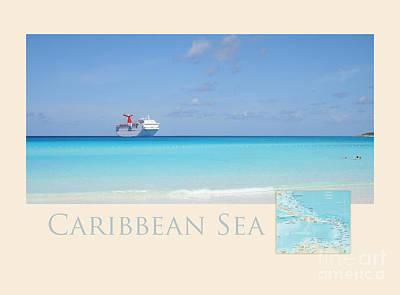 Caribbean Sea Poster by Heidi Hermes