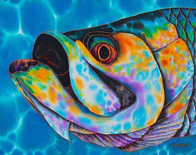 Caribbean Tarpon Fish Poster