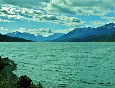 Cariboo Lake View Poster by Barbara St Jean