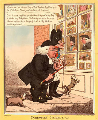 Caricature Curiosity Poster by Litz Collection