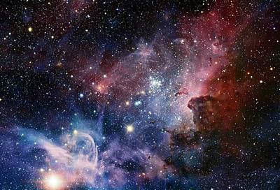 Carina Nebula Poster by Eso/t. Preibisch