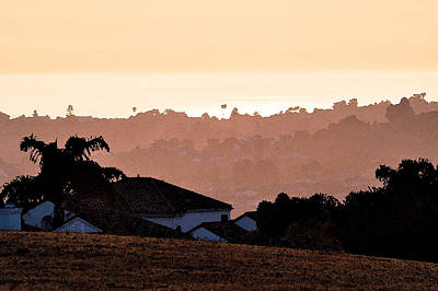 Poster featuring the digital art Carlsbad Sunset by Kirt Tisdale