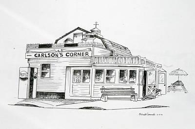Carlsons Corner Manasquan Poster