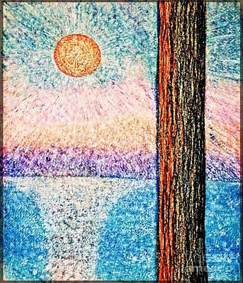 Carmel Highlands Sunset Poster