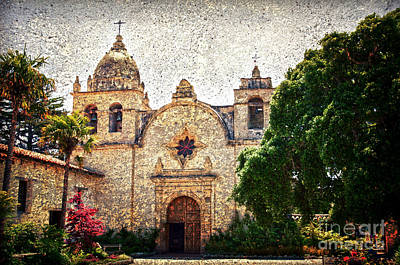 Carmel Mission Poster by RicardMN Photography