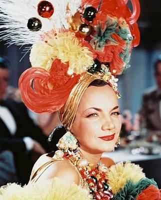 Carmen Miranda Poster by Silver Screen