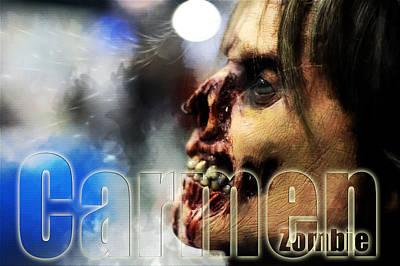 Carmen Zombie Poster