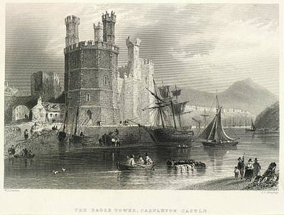 Carnarvon Castle Poster by British Library