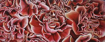 Carnations Poster by Paula Ludovino