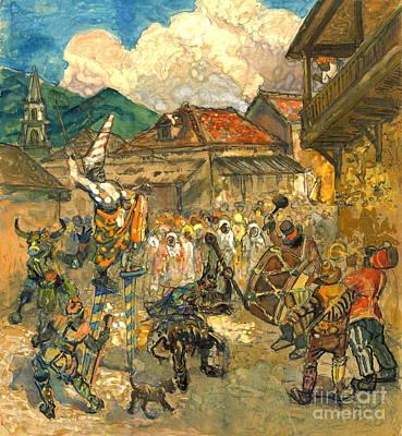 Carnival Domincia 1919 Poster
