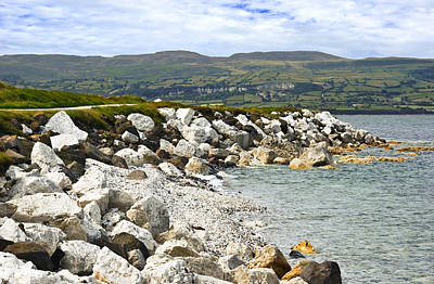 Carnlough Bay Antrim Northern Ireland Poster