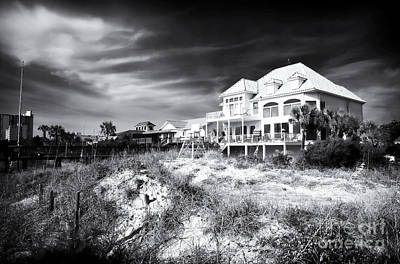 Carolina Beach House Poster by John Rizzuto