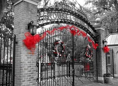 Carousel Gardens - New Orleans City Park Poster