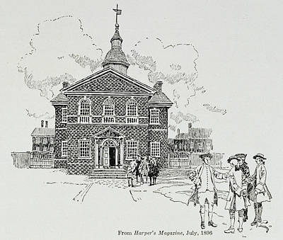 Carpenters Hall, Philadelphia, Where The First And Second Continental Congresses Held Poster
