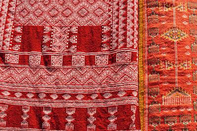 Carpet For Sale, Sidi Bou Said Poster by Nico Tondini
