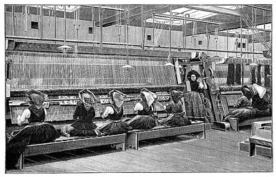 Carpet Weaving In Turkey Poster by Science Photo Library