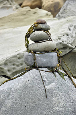 Carpinteria Stones Poster